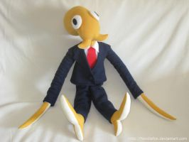 Commission: Octodad Plushie! by HoodieFox