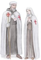 Templar Master and Nun by dashinvaine