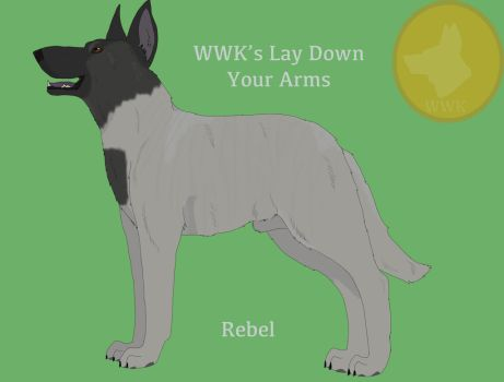 WWK's Lay Down Your Arms by WolfofWhiteKennels