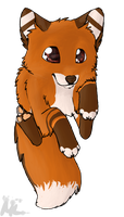Dah flying fox new character sansho by MissLayira