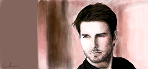 Tom Cruise by foil-duck
