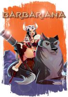 Kung Fury - Barbariana by VirtualBarata