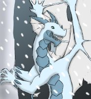 Ice Dragon by SteamMouse