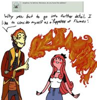 Question 3: Playing with Fire by AskNixthePhoenix