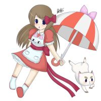 Bee and Puppycat (No Background) by Britt-Nya