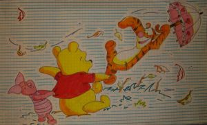 pooh flying by PiccolaGhI