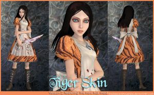 A:MR Skin - Tiger by EvanescentAngel666