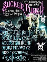 Sucker Font by DarkoJuan