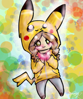 PikaGirl by CordlessStereo