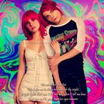 Gerard Way and Hayley Williams by DollinaCage
