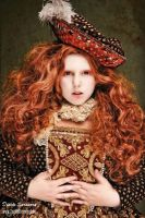 As Elizabeth I. opens her hair.... by Daphne-Dystopia