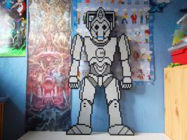 LEGO   Cyberman by ProfMadness