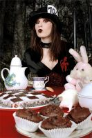 Having tea with Mrs Madhatter by Philaeria