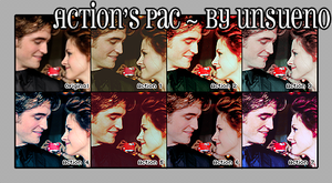 Actions Pac 3 - By unsueno. by unsueno