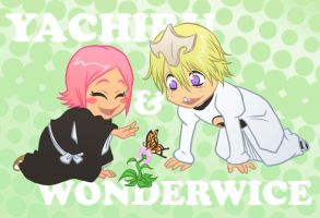 chibi Yachiru and Wonderwice by Koklico