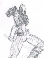Deadpool Sketch by jfriggin