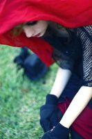 Dark Red Riding Hood II by ValentinaLaia