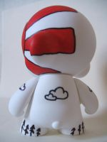 Rising sun Munny back by jrobbo