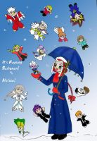 It's Raining Bishonen by serena-inverse