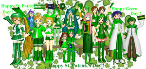 Happy St. Patrick's Day!! (2013) by Mario-McFly