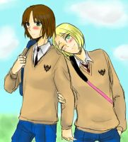 """Like, you look so cute, Liet"" by naomi-Sakurai18"