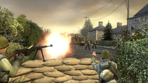 French Resistance Ambushing a German Patrol. by TheSniperKid