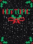 Hot Topic holiday themed logo by Rikuthedragonslayer