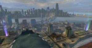 And Glorious Metropolis by bazookatortise