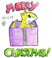 A Sandshrew Christmas by MineralRabbit