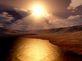 Shores of Namibia by Echo-Velocity
