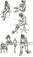 Figure Drawing Collection 2 by KianaMari