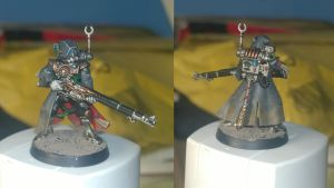 First Skitarii finished by Chris-Barlow