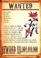 Wanted Poster Etna by DestroyedHeart