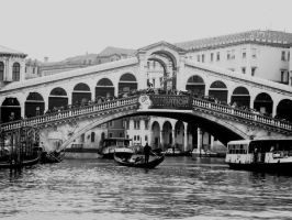 Rialto Bridge by Jules-one