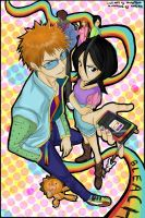 Bleach :D by kapeishi