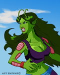 Piccolo's Daughter - Female Piccolo - Color by ArtEnzyme