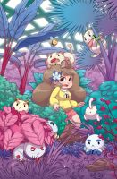 Bee and Puppycat 01 - Denver Comic Con Exclusive by zimmay