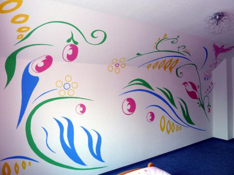 Wall paint no 3 part 1-2 by Don-Dima