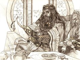 Thorin Oakenshield by fresco-child