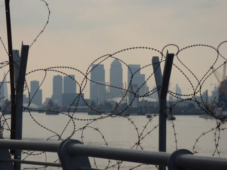 london through the wire by frankieconti