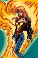 Rachel Summers by JBourlett