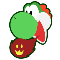 Yoshi head by Twin-Gamer