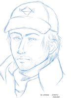 Aiden Pearce Doodle Paint Bild by Connors-Tomahawk