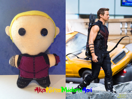 Marvel Plushes: Hawkeye by AkaKiiroMidoriAoi
