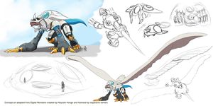 DWA - Imperialdramon transport module draft by Vinsuality