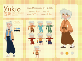 YUKIO Character Reference and Biography by NattiKay