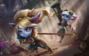 Poppy, Tristana, Lulu. by TheMaestroNoob