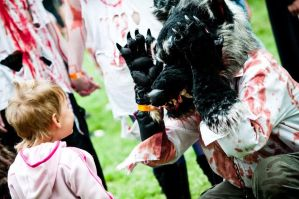 Zombiewalk 2012 by MRmoonWolf