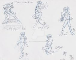 Veltin turned Velyn - More poses by Yukiko-chan