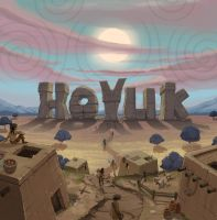 Hoyuk box cover art by SC4V3NG3R